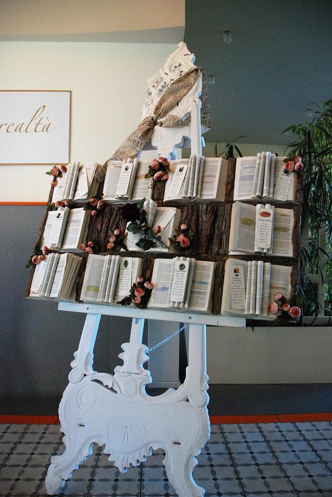 Tableau de mariage con libri e cortecce, letteratura vittoriana