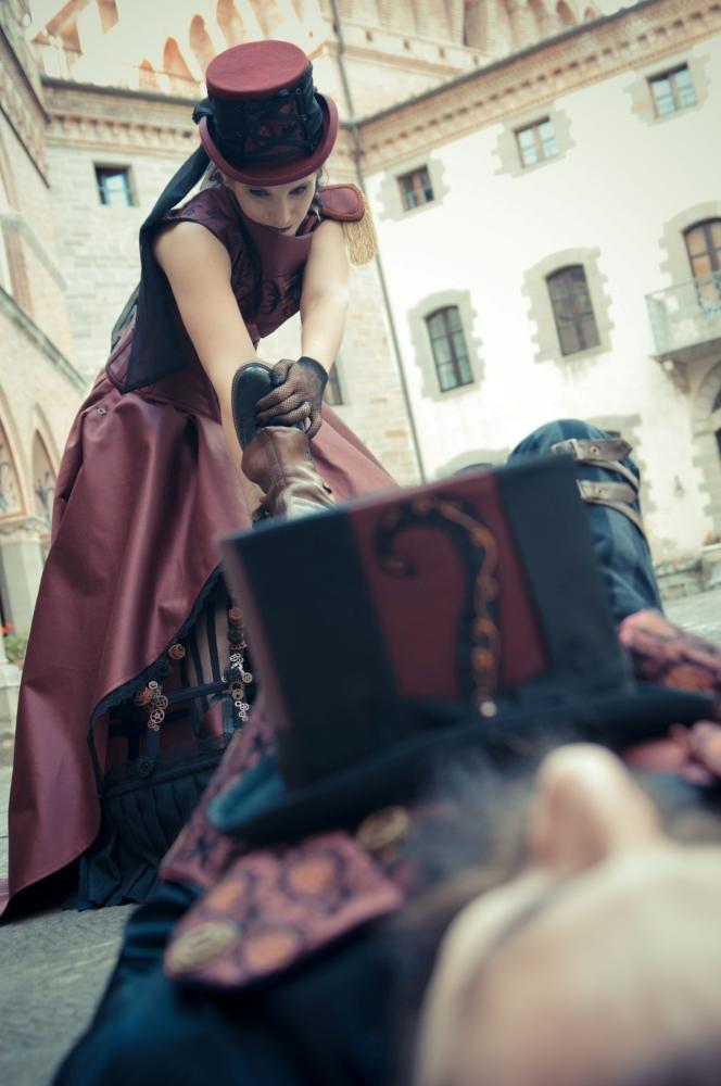 E' importante che l'abito da sposa sia comodo per trascinare gli sposi svenuti in giro!